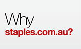 Why Staples.com.au?